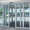 Прямые автоматические двери