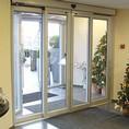 Автоматические телескопические двери